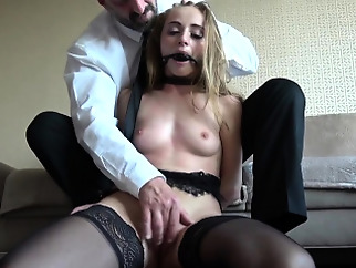fetish brunette bdsm