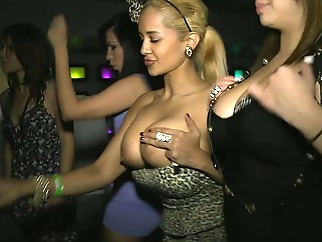 blond brunette big tits